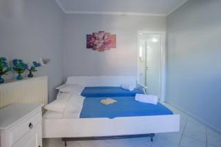 orange apartments bedroom