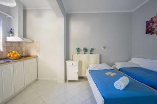 orange apartments room